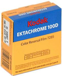 Kodak Ektachrome 100D Colour Super 8 Cine Film  *NEW*