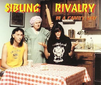 Sibling Rivalry In A Family Way Cd Joey Ramone Of The Ramones Rare Punk