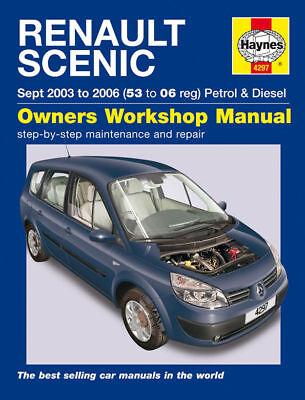 Renault Scenic Petrol Diesel 03-06 Haynes Manual 4297
