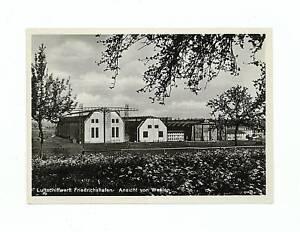 Original Mint RPPC Zeppelin Hanger Construction card