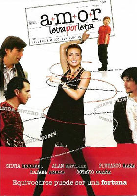 Amor Letra Por Letra (2008) Silvia Navarro Dvd