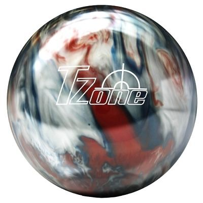 8lb Brunswick T-Zone Patriot Blaze Bowling Ball