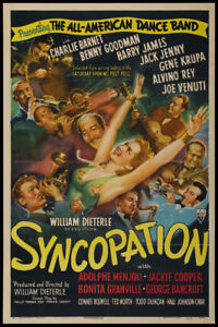 Benny-Goodman-Syncopation-1942-vintage-movie-poster