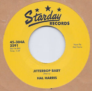 Rockabilly-HAL-HARRIS-Jitterbop-Baby-I-Dont-Know-When-STARDAY-HEAR-IT