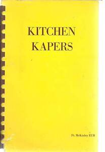 FORT McKINLEY OH VINTAGE KITCHEN KAPERS OHIO COOK BOOK