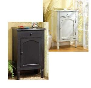 shabby-Wood-chic-End-Table-Square-Cabinet-night-stand