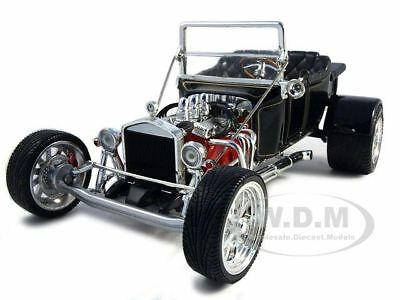 1923 Ford T-bucket Roadster Black 1:18 Model Car By Road Signature 92828
