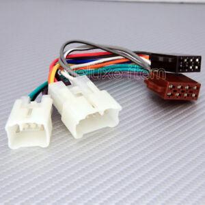 impreza cd radio stereo wiring harness adapter lead loom toyota 16 pin iso car stereo audio wire connector loom | ebay