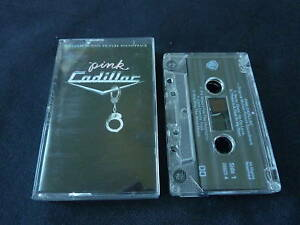 PINK-CADILLAC-RARE-SOUNDTRACK-CASSETTE-TAPE-HANK-WILLIAMS-RANDY-TRAVIS-DION