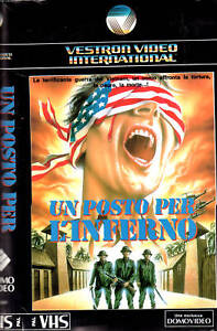 Un-posto-per-l-039-Inferno-1970-VHS-Vestron-Video-PAUL-KRASNY-HAL-HOLBROOK