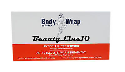 Body Wrap Contour Anti-cellulite Warm Treatment Wrap