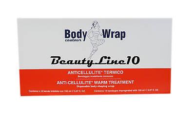Body Wrap Contour Anti-cellulite Warm Treatment Wrap