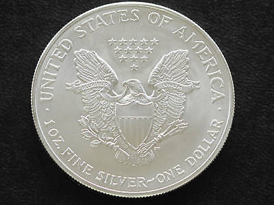 2004 LIBERTY WALKING AMERICAN SILVER EAGLE DOLLAR COIN