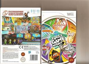 Image Is Loading HASBRO FAMILY GAME NIGHT VOLUME 2 NINTENDO WII