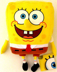 SPONGEBOB-SQUAREPANTS-Cuddly-Soft-Plush-Stuffed-Toys