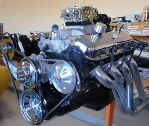 Chevy 454 510 Horsepower Complete Crate Engine Pro Built