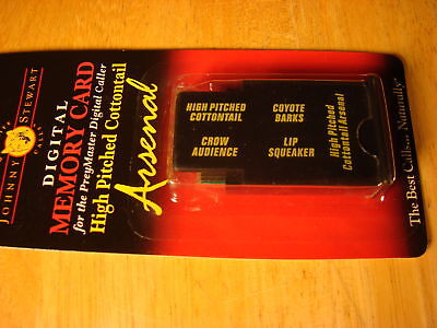Johnny Stewart High Pitch Cottontail Mc-hca Memory Card For Pm-3 & Pm-4
