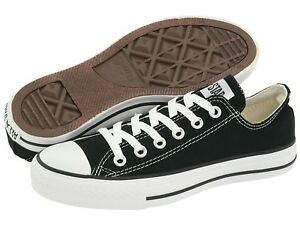 NEW-Converse-AUTHENTIC-All-Star-BLACK-OX-M9166-MEN-size