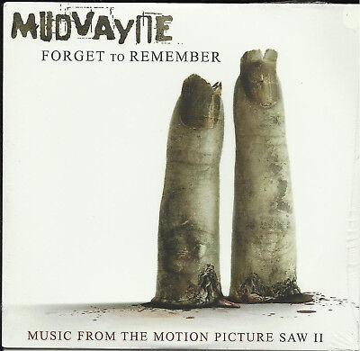 MUDVAYNE Forget To Remember PROMO DJ CD Single w/ SAW II VIDEO SEALED 2005 USA