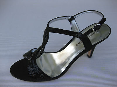 Arturo Chiang Womens Shoes $80 Bliss Black Satin 8