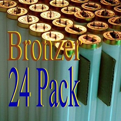 24 Pk 100W  tanning bed Hot Bronzer lamps/bulbs F71