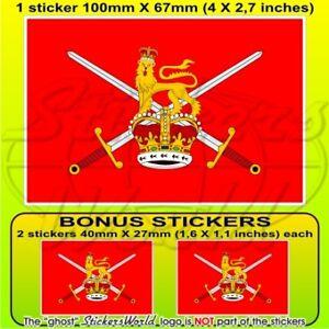 BRITISH ARMY Flag UK 100mm-4