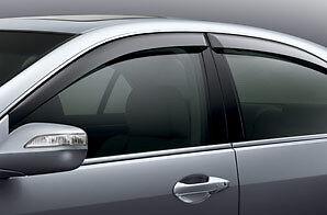 Genuine oem 2005 2012 acura rl door window vent visors ebay for 04 acura tl oem window visors