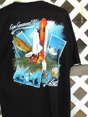 Space Shuttle T- Shirt Real Legends