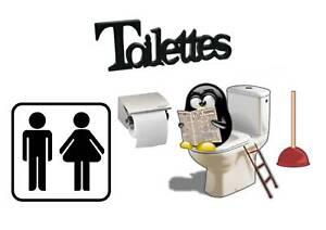 affiche de porte plastifi wc toilette 04 ebay. Black Bedroom Furniture Sets. Home Design Ideas