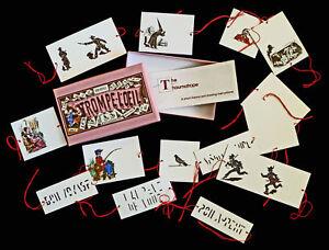 Thaumatrope-Box-Set-Trompe-L-Oeil-Optical-Toy-illusion-persistence-of-vision