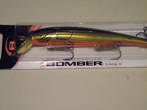 Bomber Long 15a 15 a XMKO gold orange B15AXMKO AXMKO AUSSIE Barra Bass Lure NIB
