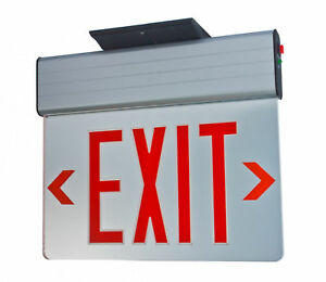 Fire exit sign battery
