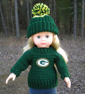 American-Girl-18-Doll-Football-Crochet-Set-You-Choose