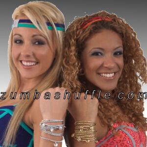 ZUMBA-Metallic-Logo-Wrap-Bracelet-SILVER-GOLD-New
