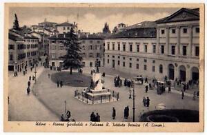 UDINE-CARTOLINA-PIAZZA-GARIBALDI-E-PALAZZO-R-IST-TECN