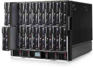 HP-BLc7000-Blade-Enclosure-Fully-Loaded-w-16x-BL460c-G6-2x-X5570-Blade-Servers