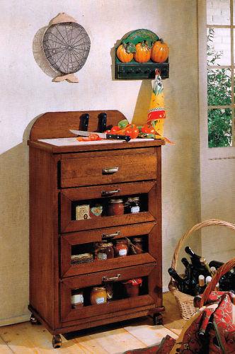 Tagliere carrello arte povera con cassetti cucina in vari - Carrelli per cucine ...