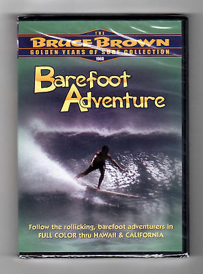 Barefoot Adventure (dvd) Bruce Brown, Golden Years Surf Collection, Brand