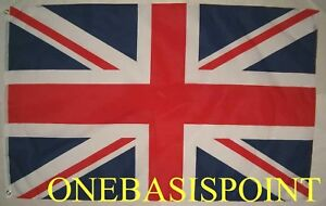3'x5' BRITISH FLAG OUTDOOR UK UNION JACK HUGE 3X5 NEW