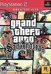 Grand Theft Auto: San Andreas (greatest Hits) Ps2