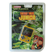 Nintendo Mini Classics: Donkey Kong Jr. - Game & Keycha