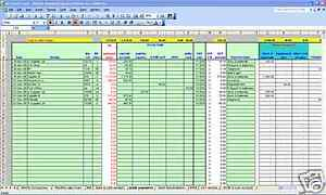 excel accounting spreadsheet templates .