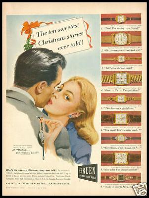 1946 Vintage Ad For Gruen Watches