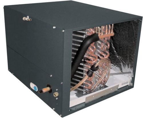 Horizontal Flow Air Conditioner Heat Pump Cased Evaporator Coil