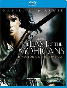 The Last Of The Mohicans Blu-ray Disc, 2010  - $4.00