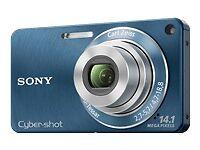 BRAND-NEW-SEALED-Sony-Cyber-shot-DSC-W350-14-1-MP-Digital-Camera-Blue