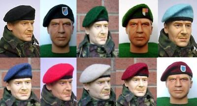 Banjoman's 1/6th Scale Berets
