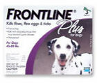 FRONTLINE 45 to 88 lbs. Dog Flea & Tick Remedies