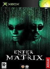 Enter the Matrix Microsoft Xbox Atari Video Games