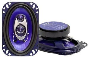 "Pyle PL463BL 3-Way 4"" x 6"" Car Speakers ..."